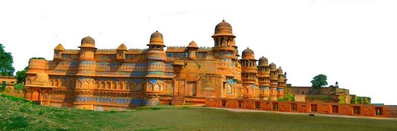 Gwalior_Fort_-_Morning_View